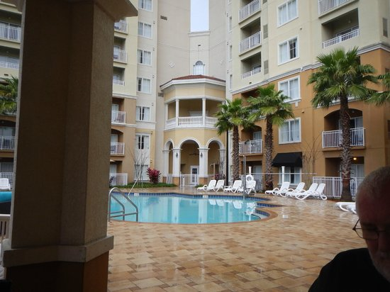 The Point Orlando Resort : View of hotel from pool