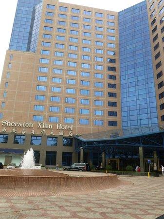Sheraton Xi'an Hotel: Front View