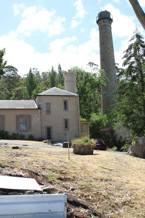 Shot Tower: House & tower