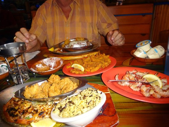 Florida S Seafood Bar Grill Platters