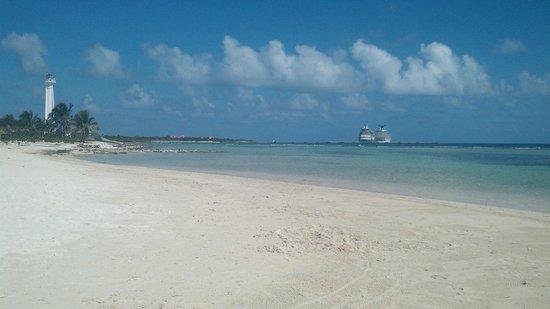 Blue Kay Mahahual: Playa amplia