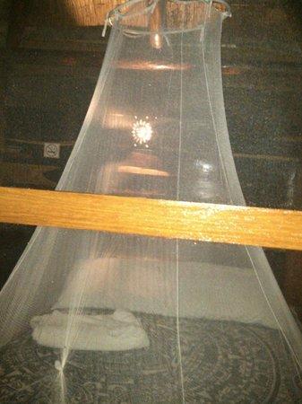 Blue Kay Mahahual: Cabaña con colchón de agua