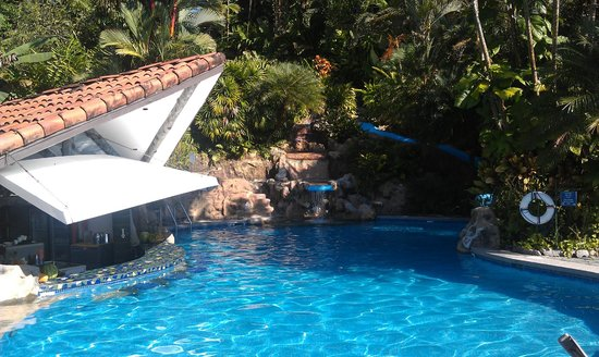 Hotel Si Como No: Family Pool with waterslide and bar