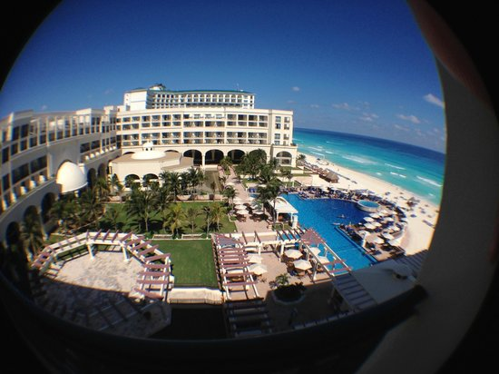 CasaMagna Marriott Cancun Resort: Vista do quanrto no 5º andar