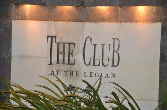 The Legian Bali: The Club