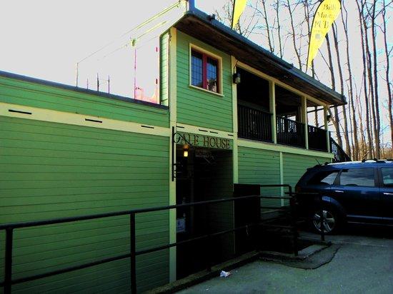 Billy Miner Alehouse & Cafe : Back Side of the Restaurant