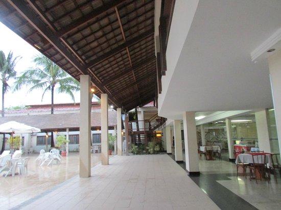 Nauticomar All Inclusive Hotel & Beach Club: área do restaurante