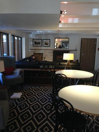 Hotel Durant: Lounge