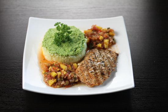 Coffee & Jazz : Salmon Steak