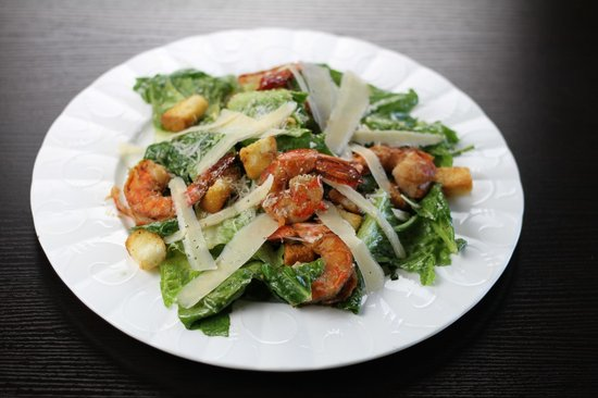 Coffee & Jazz : Shrimp Caesar