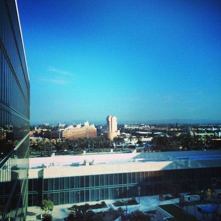 Hilton Anaheim: Room view