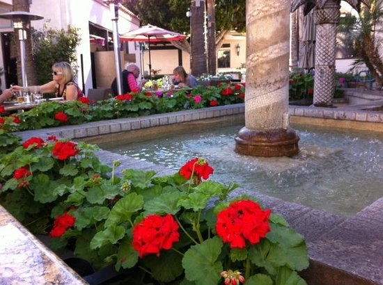Sammy G's Tuscan Grill: The fountain