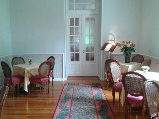 Villa Elisa: Вход в ресторан