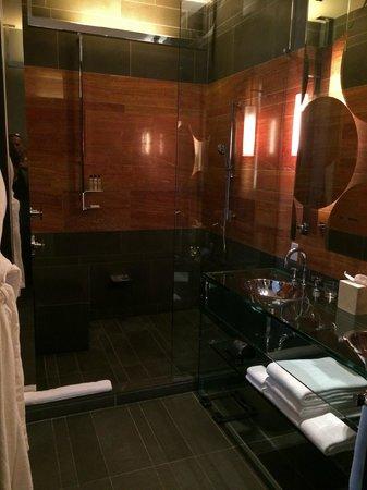 Andaz 5th Avenue : Huge shower