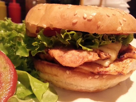 Pizza By Enzo: Best chicken burgers in town, period. Homemade sauce!