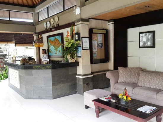 Adi Dharma Cottages : To  reception