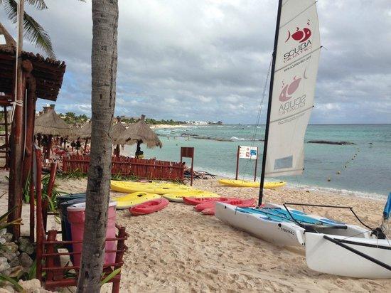 Luxury Bahia Principe Sian Ka'an Don Pablo Collection: пляж
