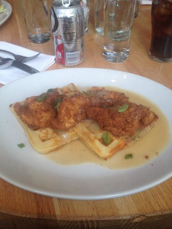 Lot 2: Chicken and Waffles! THE BEST!