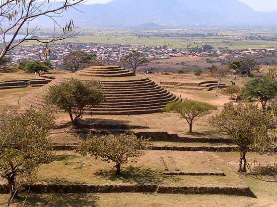 Guachimontones : The largest pyramid