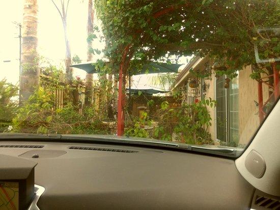 """Always Inn San Clemente B&B: """"our"""" patio"""