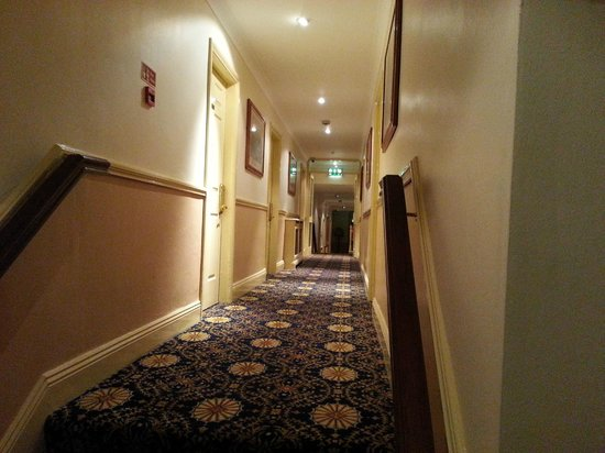 Granville Hotel: Hallway