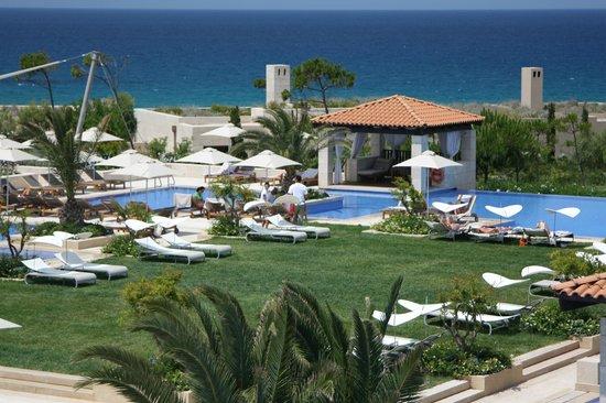 The Romanos Resort, Costa Navarino: вид