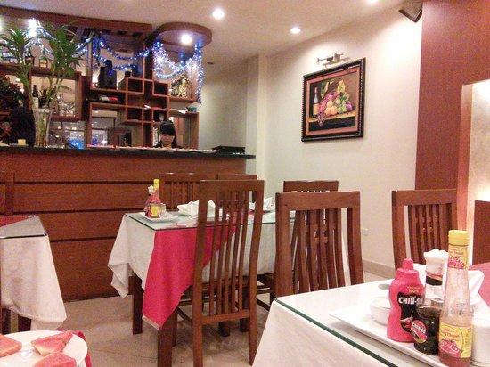 Hanoi Holiday Diamond Hotel: レストラン