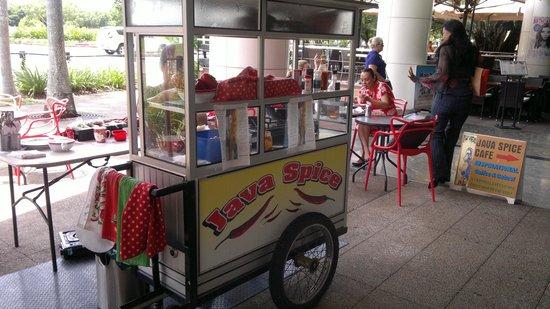 """Java Spice Cafe Emporium: """"Bakso"""" cart"""