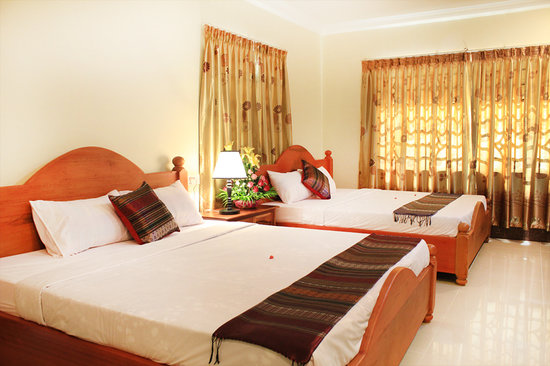 Keanthay Guesthouse: Deluxe Double room