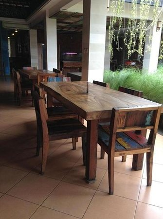 Rosemary Restaurant & Bar: indoor eating area, but still open air