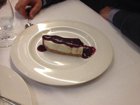 Restaurante Bertiz: Increíble la tarta de queso