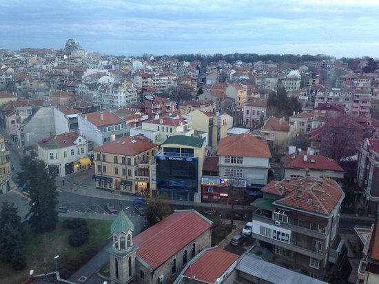 Hotel Bulgaria: View from hotel room