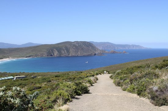 South Bruny National Park: Cloudy Bay