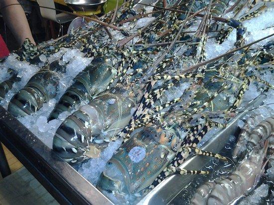 Hua Hin Night Bazaar: Они совсем недорогие и очень вкусные