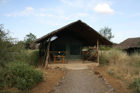 Kibo Safari Camp : esterno tenda