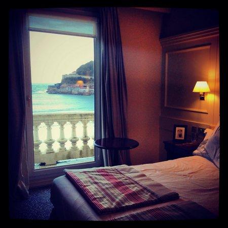 Hotel de Londres y de Inglaterra: Chambre 514, vue océan
