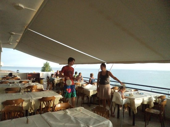 Ionian Beach: BREAKFAST WITH MY FAMILY