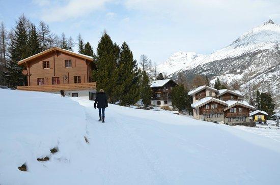 Hotel-Apart & Restaurant La Gorge : BALADE VERS LE HAUT DU VILLAGE