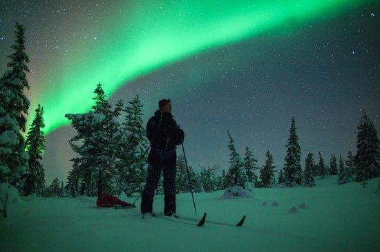 Finnland: Aurora Borealis