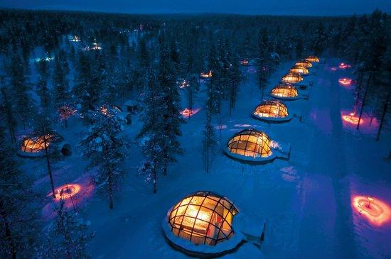 Finlandia: Igloo hotel kakslauttanen in Lapland