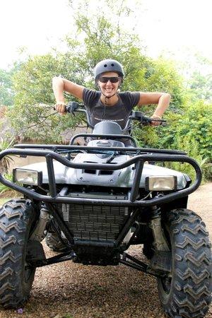 Chrislin African Lodge: Crisscross Adventure Quad Biking