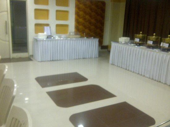 Hotel Apna Palace : The airconditioned banquet hall - JALSA