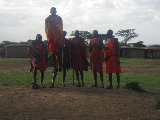 Sentrim Mara Camp: masai