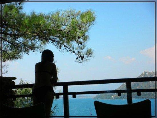 TUI BLUE Marmaris: вид с балкона