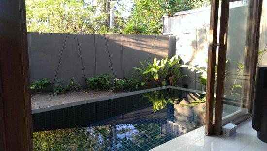 Renaissance Phuket Resort & Spa : Pool viewed from Living Area