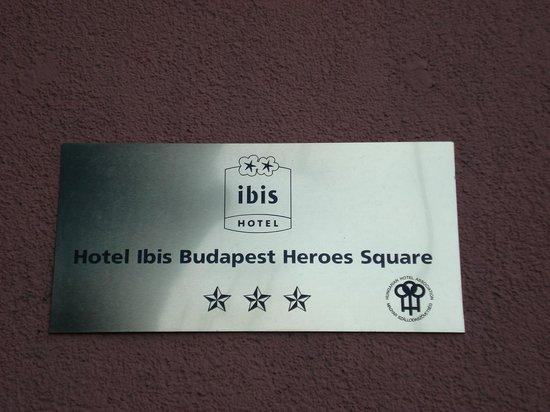 ibis Budapest Heroes Square : отель