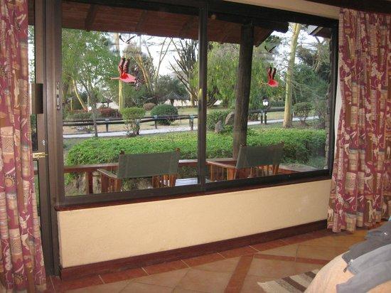Lake Nakuru Lodge: vista