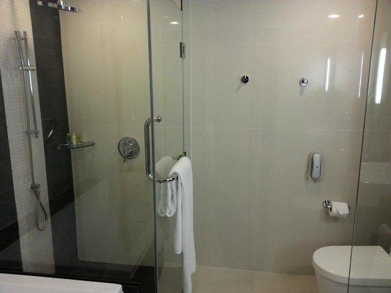 Radisson Suites Bangkok Sukhumvit : Toilet & Shower