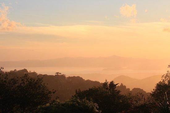 Sunset Hotel Monteverde: sunset