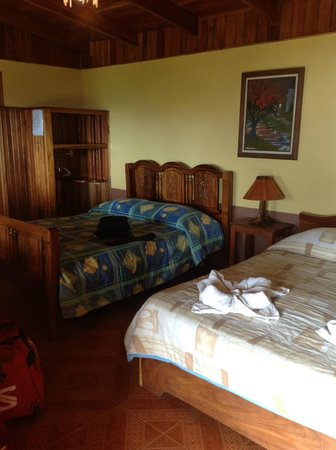 Sunset Hotel Monteverde : room with 2 double beds